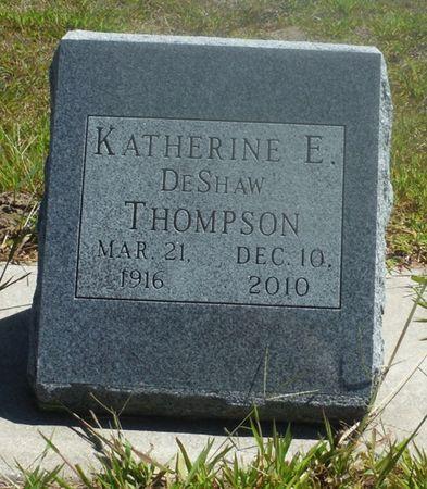 THOMPSON, KATHERINE E. - Delaware County, Iowa   KATHERINE E. THOMPSON