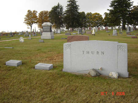THURN, FAMILY STONE - Delaware County, Iowa | FAMILY STONE THURN