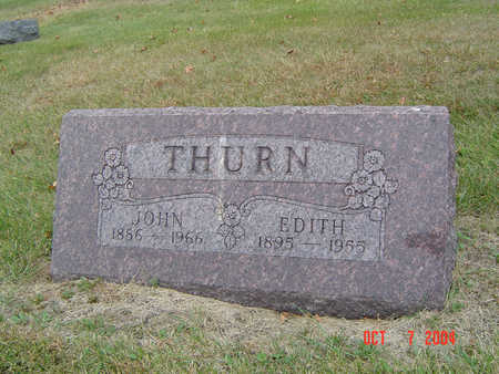 SPENCER THURN, EDITH - Delaware County, Iowa | EDITH SPENCER THURN