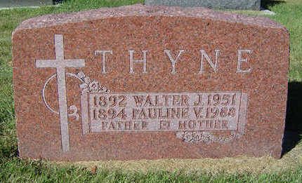 THYNE, PAULINE V. - Delaware County, Iowa | PAULINE V. THYNE