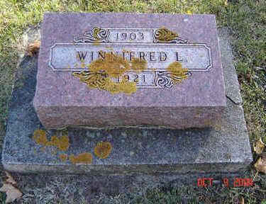 TIBBOTT, WINNIFRED L. - Delaware County, Iowa | WINNIFRED L. TIBBOTT