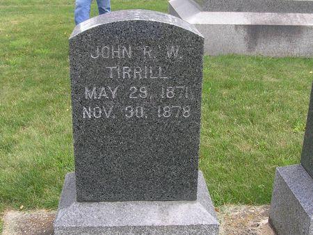 TIRRILL, JOHN R.W. - Delaware County, Iowa   JOHN R.W. TIRRILL