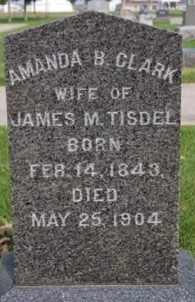 TISDEL, AMANDA B. - Delaware County, Iowa | AMANDA B. TISDEL