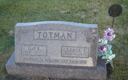 TOTMAN, GEORGE E. - Delaware County, Iowa | GEORGE E. TOTMAN