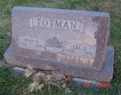 TOTMAN, IRMA O. - Delaware County, Iowa | IRMA O. TOTMAN