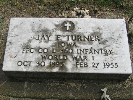 TURNER, JAY E. - Delaware County, Iowa | JAY E. TURNER
