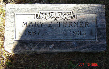 HAWKS TURNER, MARY E. - Delaware County, Iowa | MARY E. HAWKS TURNER