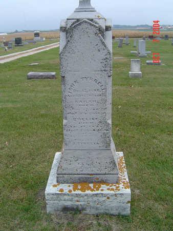 TYRRELL, SARAH - Delaware County, Iowa | SARAH TYRRELL