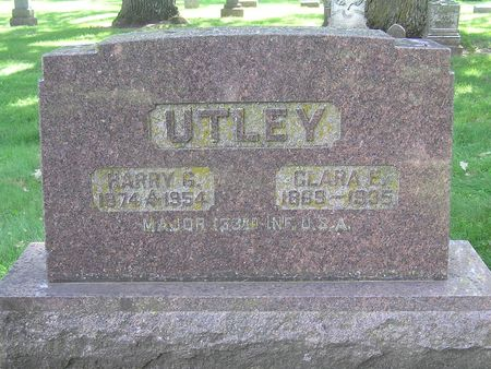 UTLEY, HARRY - Delaware County, Iowa | HARRY UTLEY