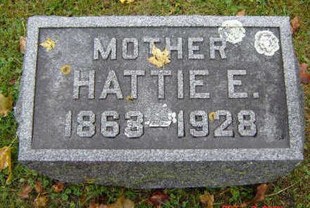 WANDELL, HATTIE E. - Delaware County, Iowa | HATTIE E. WANDELL