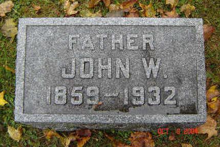 WANDELL, JOHN W. - Delaware County, Iowa   JOHN W. WANDELL