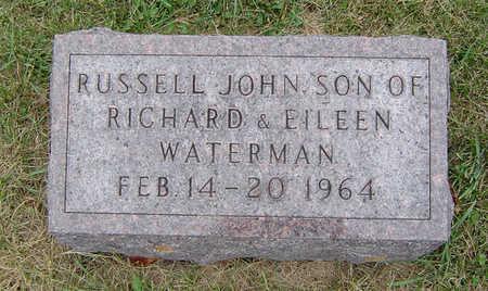 WATERMAN, RUSSELL JOHN - Delaware County, Iowa | RUSSELL JOHN WATERMAN