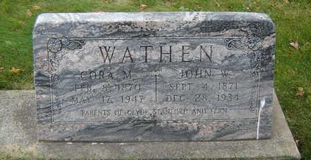 WATHEN, JOHN W. - Delaware County, Iowa | JOHN W. WATHEN