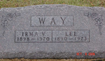MAXSON WAY, IRMA V. - Delaware County, Iowa | IRMA V. MAXSON WAY