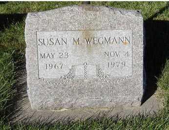 WEGMANN, SUSAN M. - Delaware County, Iowa   SUSAN M. WEGMANN