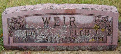 BASQUIN WEIR, IDA J. - Delaware County, Iowa | IDA J. BASQUIN WEIR