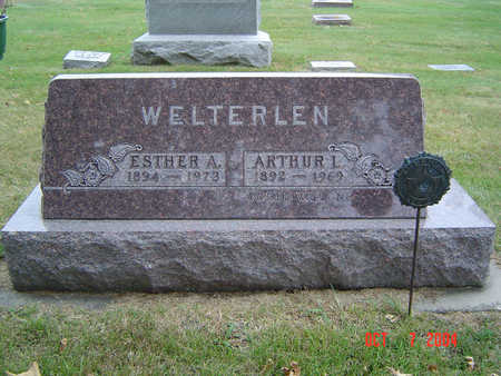 WELTERLEN, ESTHER A. - Delaware County, Iowa | ESTHER A. WELTERLEN