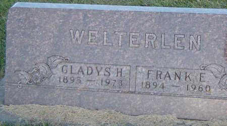 DAY WELTERLEN, GLADYS H. - Delaware County, Iowa   GLADYS H. DAY WELTERLEN
