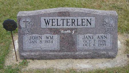 WELTERLEN, JANE ANN - Delaware County, Iowa | JANE ANN WELTERLEN