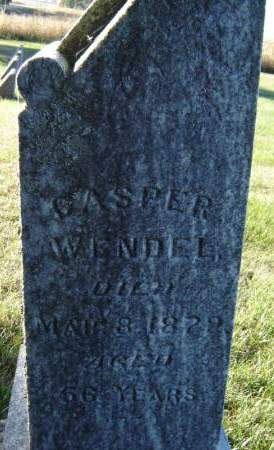WENDEL, CASPER - Delaware County, Iowa | CASPER WENDEL
