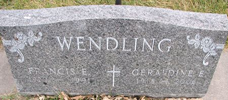 WENDLING, FRANCIS - Delaware County, Iowa | FRANCIS WENDLING