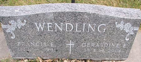 HILLIGER WENDLING, GERALDINE - Delaware County, Iowa | GERALDINE HILLIGER WENDLING