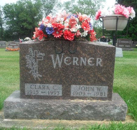 ROLING WERNER, CLARA C. - Delaware County, Iowa | CLARA C. ROLING WERNER