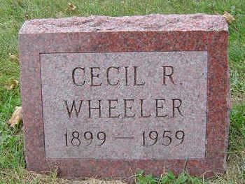 WHEELER, CECIL R. - Delaware County, Iowa | CECIL R. WHEELER