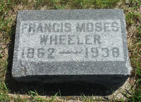 WHEELER, FRANCIS MOSES - Delaware County, Iowa | FRANCIS MOSES WHEELER