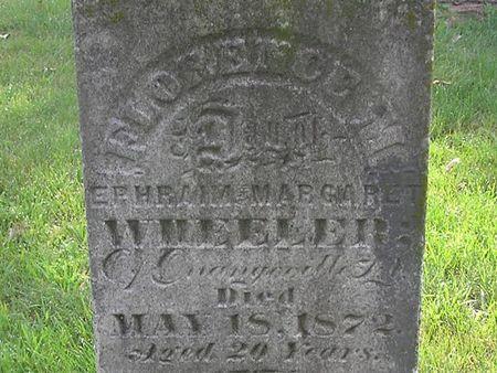 WHEELER, FLORENCE M. - Delaware County, Iowa   FLORENCE M. WHEELER