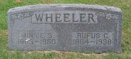 WHEELER, RUFUS C. - Delaware County, Iowa | RUFUS C. WHEELER