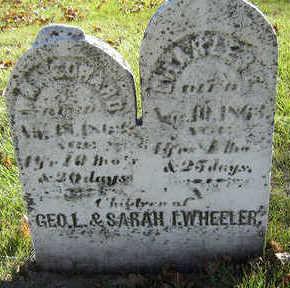 WHEELER, CHARLES E. - Delaware County, Iowa | CHARLES E. WHEELER