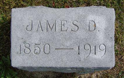 WHIPPLE, JAMES D. - Delaware County, Iowa   JAMES D. WHIPPLE