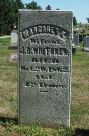 WHITAKER, MARGARET K. - Delaware County, Iowa   MARGARET K. WHITAKER