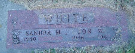 WHITE, JON W. - Delaware County, Iowa | JON W. WHITE
