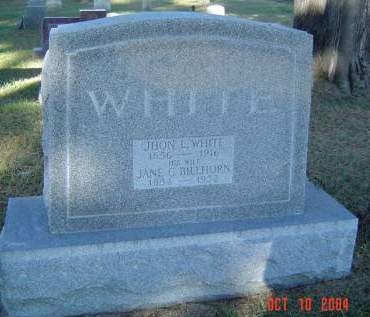 WHITE, JHON L. - Delaware County, Iowa | JHON L. WHITE