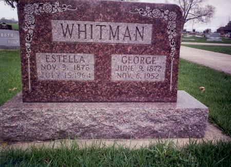 COONROD WHITMAN, ESTELLA - Delaware County, Iowa | ESTELLA COONROD WHITMAN