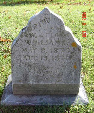 WILLIAMS, ARTHUR B. - Delaware County, Iowa | ARTHUR B. WILLIAMS