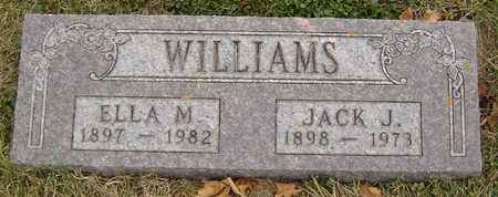 WILLIAMS, ELLA M. - Delaware County, Iowa | ELLA M. WILLIAMS