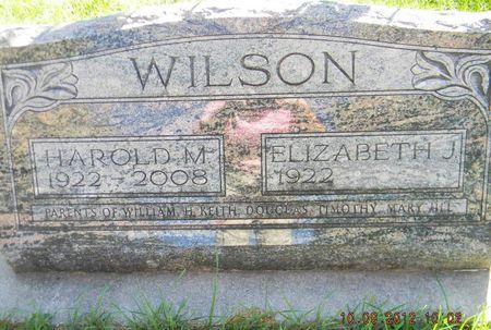WILSON, HAROLD M. - Delaware County, Iowa | HAROLD M. WILSON