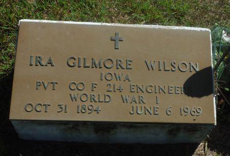 WILSON, IRA GILMORE - Delaware County, Iowa | IRA GILMORE WILSON