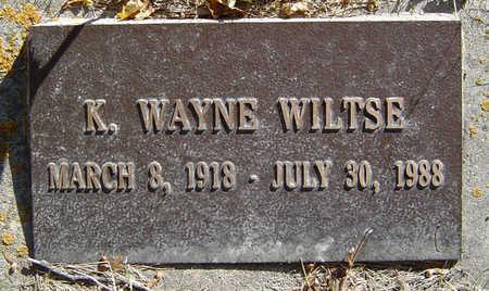 WILTSE, K. WAYNE - Delaware County, Iowa   K. WAYNE WILTSE