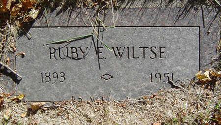 WILTSE, RUBY E. - Delaware County, Iowa | RUBY E. WILTSE