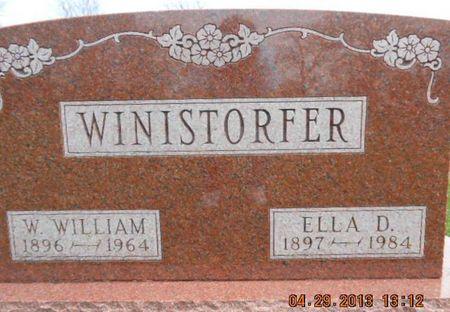 SYRING WINISTORFER, ELLA D. - Delaware County, Iowa | ELLA D. SYRING WINISTORFER