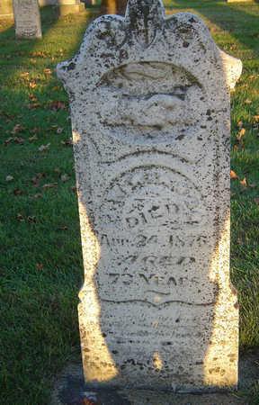 WINSOR, JOHN WARNER - Delaware County, Iowa   JOHN WARNER WINSOR