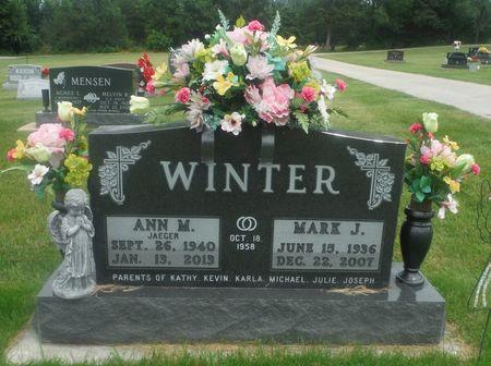 WINTER, MARK  J. - Delaware County, Iowa   MARK  J. WINTER