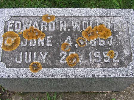 WOLCOTT, EDWARD N. - Delaware County, Iowa | EDWARD N. WOLCOTT