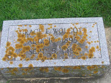 WOLCOTT, GRACE - Delaware County, Iowa | GRACE WOLCOTT