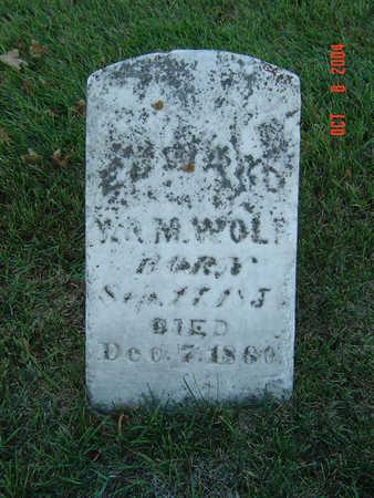 WOLF, EDWARD - Delaware County, Iowa | EDWARD WOLF