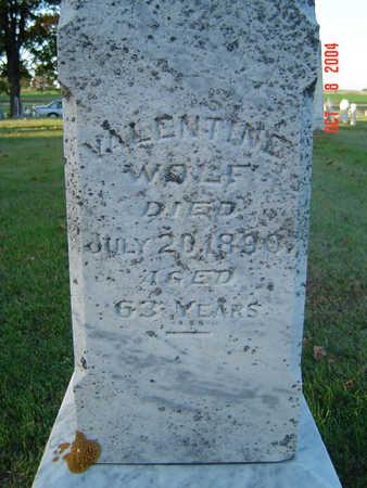WOLF, VALENTINE - Delaware County, Iowa | VALENTINE WOLF